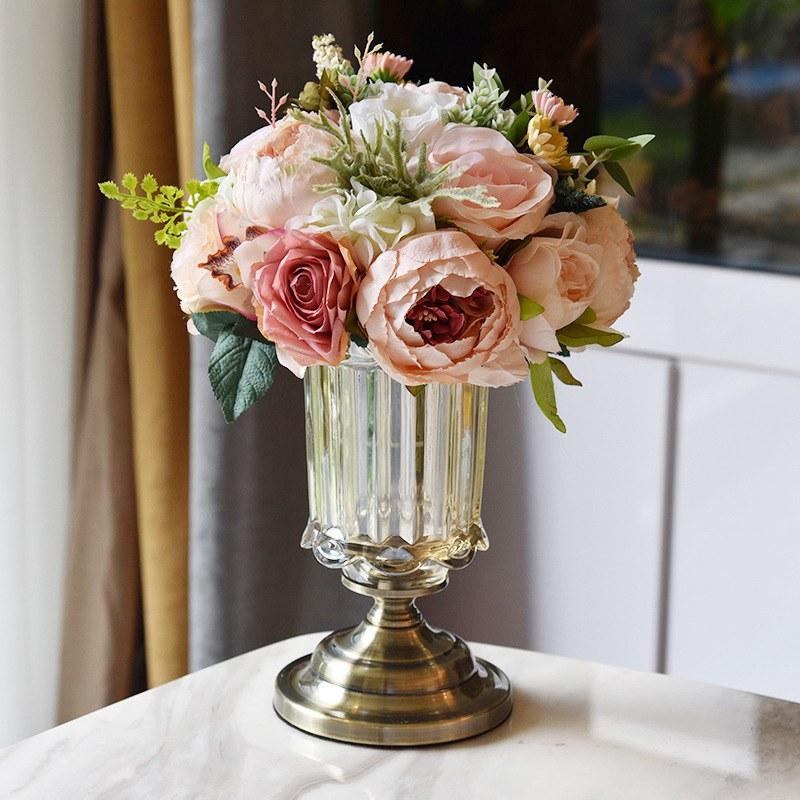 Các mẫu cắm hoa đơn giản