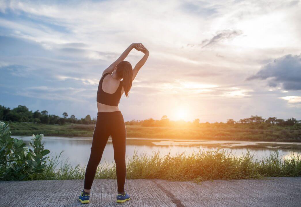 Tập thể dục buổi sáng là thói quen tốt mà bạn có thể rèn luyện