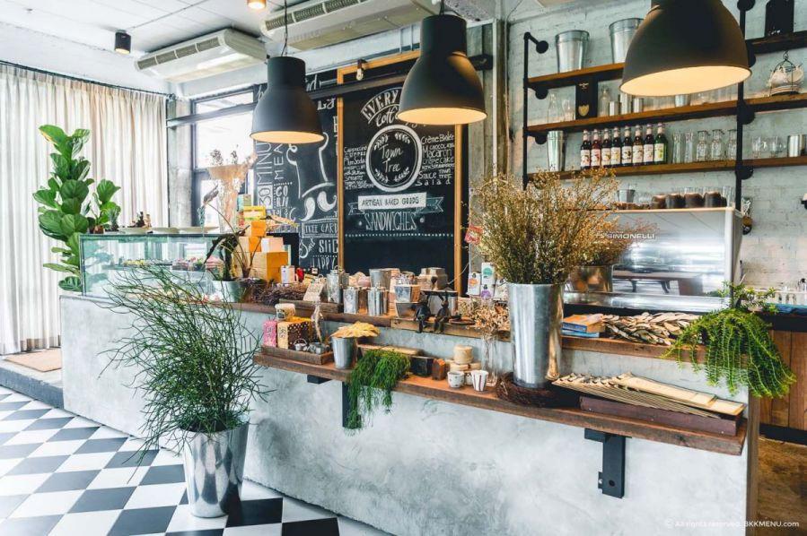 Cách trang trí quán cafe trong nhà theo phong cách hiện đại