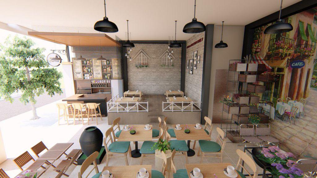 Phong cách quán cafe quyết định nhiều đến cảm nhận của khách hàng