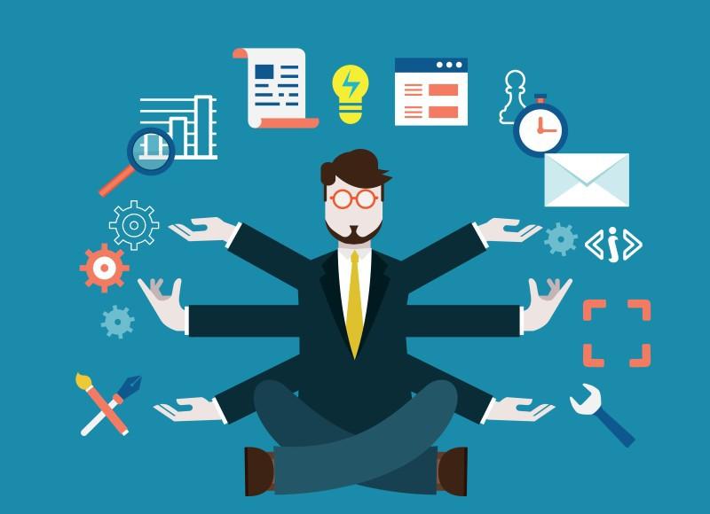Trải nghiệm thử những vấn đề xoay quanh công việc mà bạn định hướng