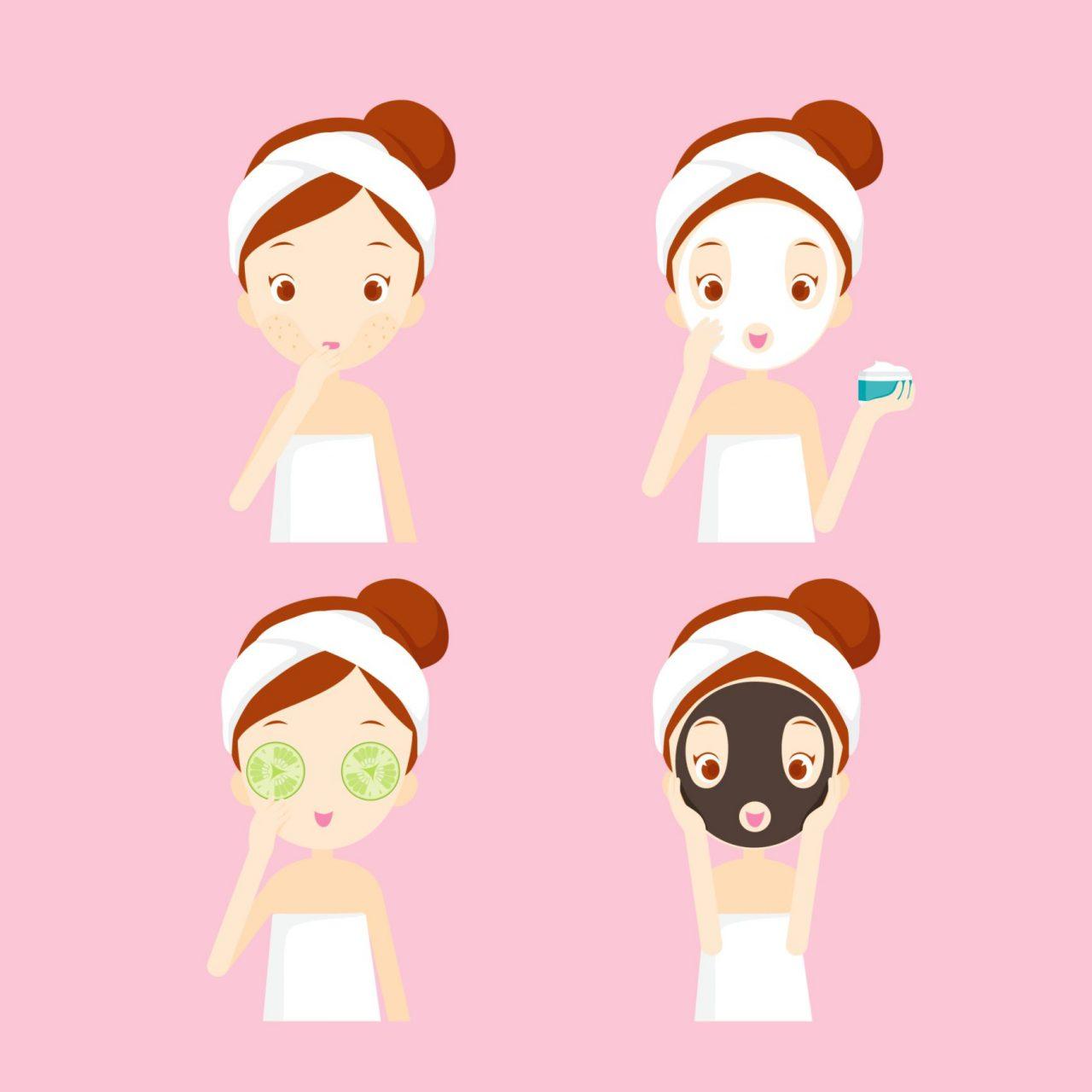 Đừng quên chăm sóc da mặt trong giai đoạn tuổi dậy thì nhé