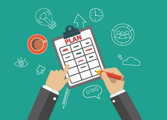 Lên kế hoạch rõ ràng cho ngày làm việc