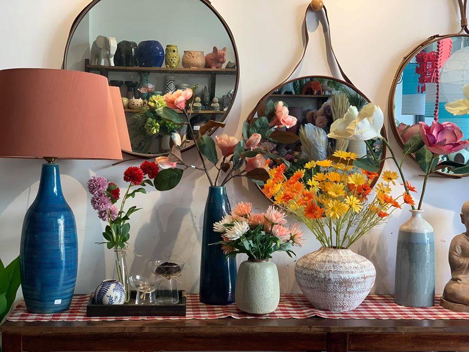 Xuất phát từ nhu cầu thị trường, các shop bán đồ trang trí nhà xuất hiện ngày càng nhiều