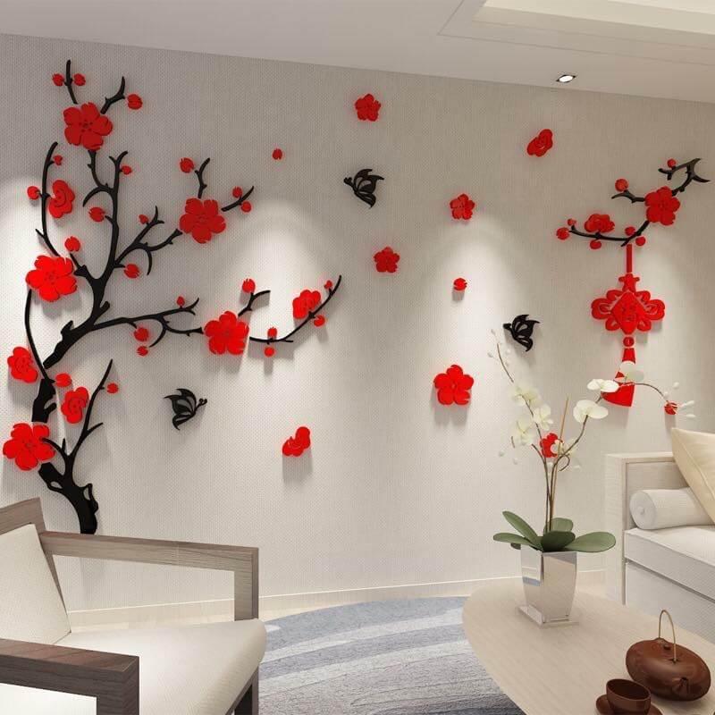 Hoa vải trang trí ngày Tết - Giải pháp hiệu quả mà tiết kiệm cho các hộ gia đình