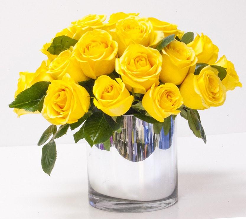 Ý nghĩa của hoa hồng vàng tượng trưng cho sự ấm áp, hạnh phúc