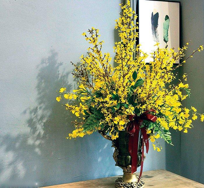Ý nghĩa hoa mai còn phân biệt dựa trên màu sắc