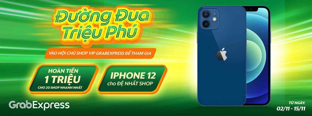 Bí kíp mang Iphone 12 về nhà cùng Grab