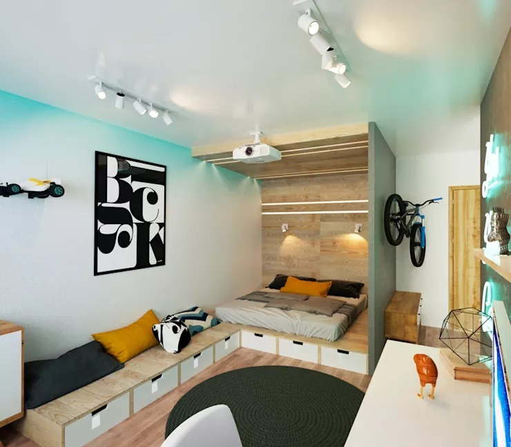 Sử dụng nội thất đa chức năng là cách trang trí nội thất nhà nhỏ hiện đại nhưng vẫn đảm bảo tiện ích