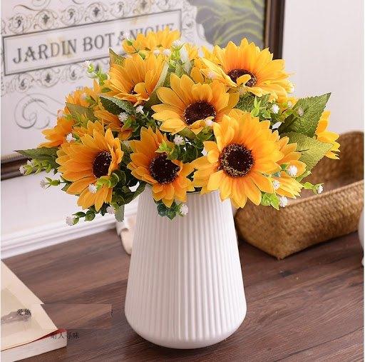 Hoa để bàn họp đẹp