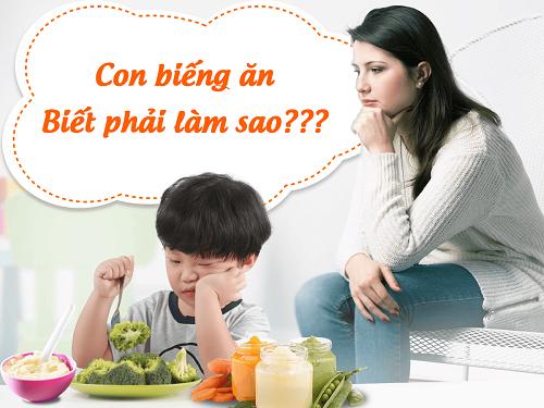 Cách lên thực đơn cho bé biếng ăn – bảo đảm ngon miệng và đủ chất