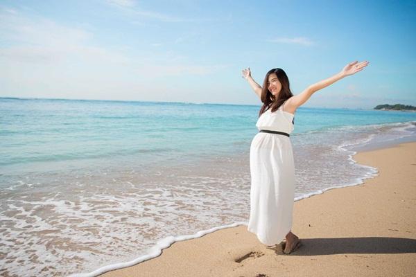 Đi du lịch biển khi mang thai trong dịp Lễ có an toàn hay không?
