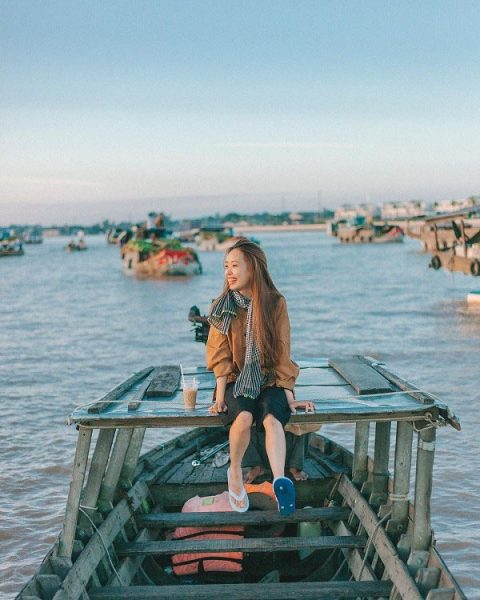 Du lịch chợ nổi miền tây cho mẹ bầu trong dịp lễ giỗ tổ Hùng Vương – Tại sao không ?