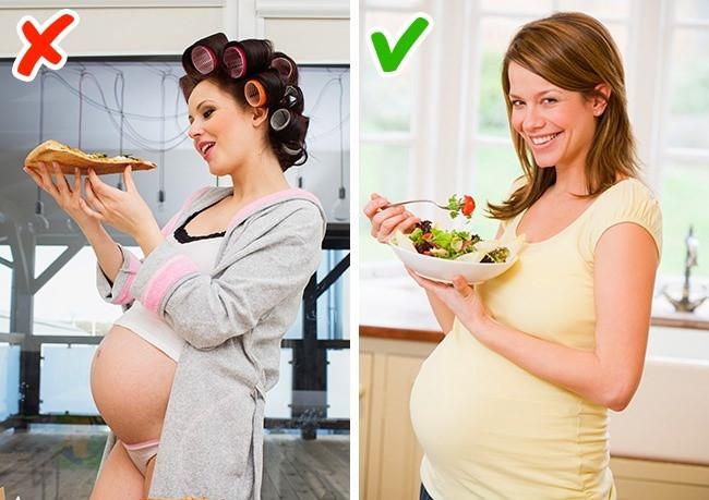 Những sai lầm mà rất nhiều bà mẹ mắc phải khi mang thai