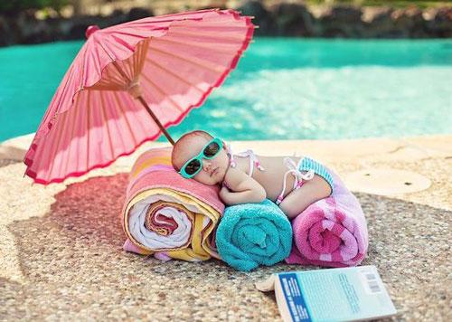 thời gian tắm nắng cho trẻ sơ sinh-13