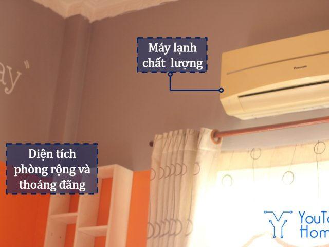 Sử dụng tất tần tật các tiện ích tại nhà chung với mức chi phí phòng hợp lý